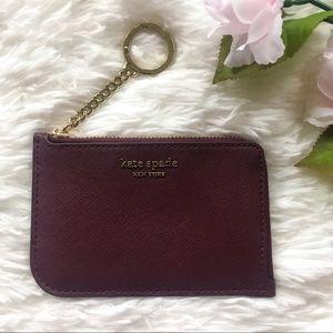 NWT Kate Spade Medium L-Zip Card Holder Cameron